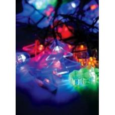 """Гирлянда Космос KOC_GIR30LEDMIX1_RGB Новогодний микс (снеговик, дед мороз)"""" 30LED разноц 4.4м 8 реж"""