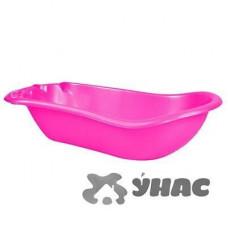 Ванночка детская темно-розовый АЛЕАНА