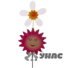 Штекер садовый Солнышко плоский с ветряком NA1487