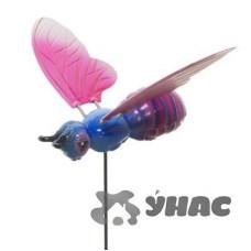 Штекер садовый Бабочка с пружинками NA1497