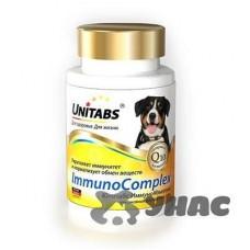 Юнитабс ImmunoComplex с Q10 для крупных собак 100 таблеток U205