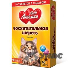 МультиЛакомки Восхитительная шерсть для кошек 70 таблеток L101