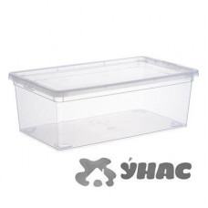Ящик для хранения 5,5л Прозр 340*190*120 мм М2351