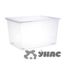 Ящик для хранения 50л Прозр 530*370*300 мм М2354