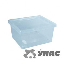 Ящик для хранения 2л Прозр 190*160*90 мм М2350