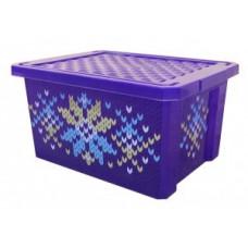Ящик для хранения Optima Carnaval 17л, 40*30*21см, пластик BQ2584 BranQ