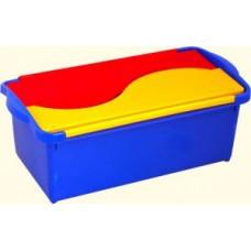 Ящик детский Combi 8,5л, лего, синий/желтый/красный, РТ1982/ РТ1988 Plast team