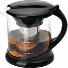 Чайник заварочный 1000мл, стекло/нержавеющая сталь, фильтр нерж сталь, Decotto-1000, 910108 Mallony