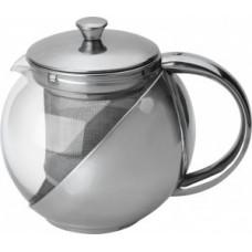 Чайник заварочный 500мл, стекло/нержавеющая сталь, фильтр нерж сталь, Menta-500, 910109 Mallony