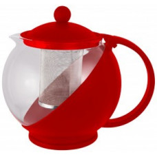 Чайник заварочный 750мл, стекло/пластик, фильтр нерж сталь, цвета микс, Variato-750, 910102 Mallony