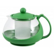 Чайник заварочный 750мл, стекло/пластик, фильтр пластик, цвета микс, Variato-750ML, 910105 Mallony