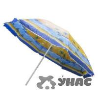 Зонт пляжный h-1,7м d-170 см 1114-JW