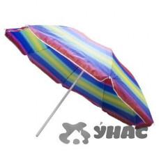 Зонт пляжный h-1,7м d-200 см с наклоном 1106-JW